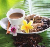 Зеленый кофе с имбирем и гвоздикой: