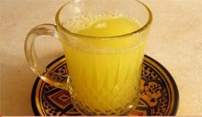 Напиток из имбиря и ананаса