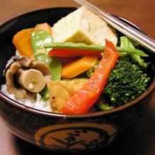 Рагу из овощей с имбирем