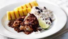 Курица в ямайском имбирном соусе
