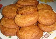 Имбирное печенье с лимоном