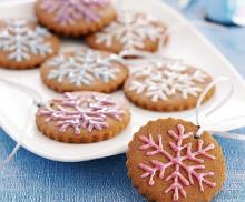 Имбирное печенье из рисовой муки с фундуком
